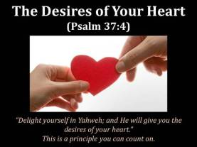 Desires of heart